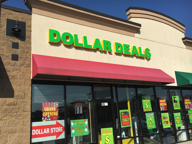 Dollar Deals - LED light Channel Letters sign - Impression Signs and Graphics