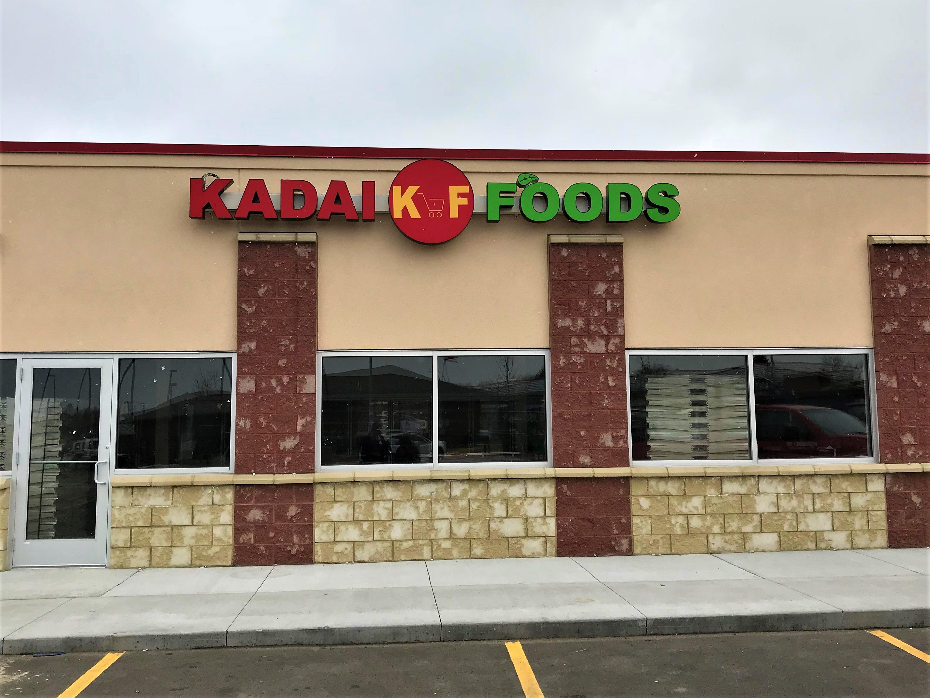 Kadai Foods - LED light Channel Letters sign - Impression Signs and Graphics