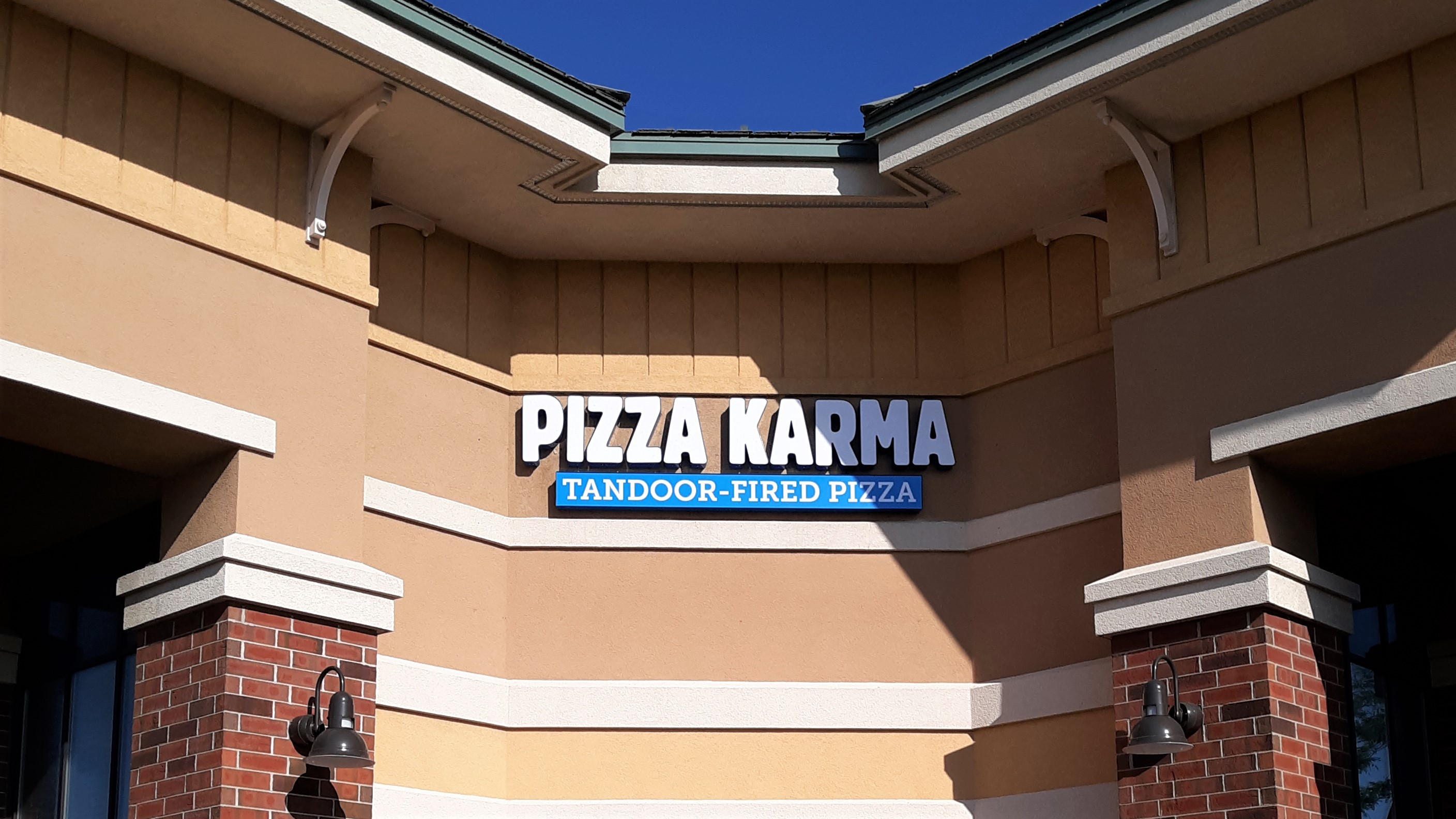 Pizza Karma - LED light Channel Letters sign - Impression Signs and Graphics