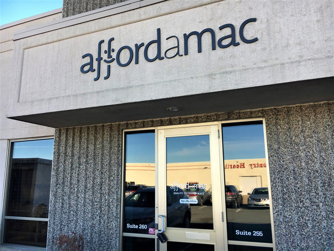Affordamac - Dimensional Letters sign - Impression Signs and Graphics