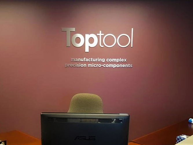 Top Tool - Dimensional Letters sign - Impression Signs and Graphics - Oakdale, MN