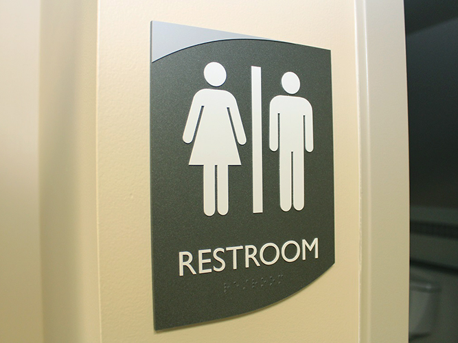 ADA Engraved Bathroom Sign - Impression Signs and Graphics - Oakdale, MN