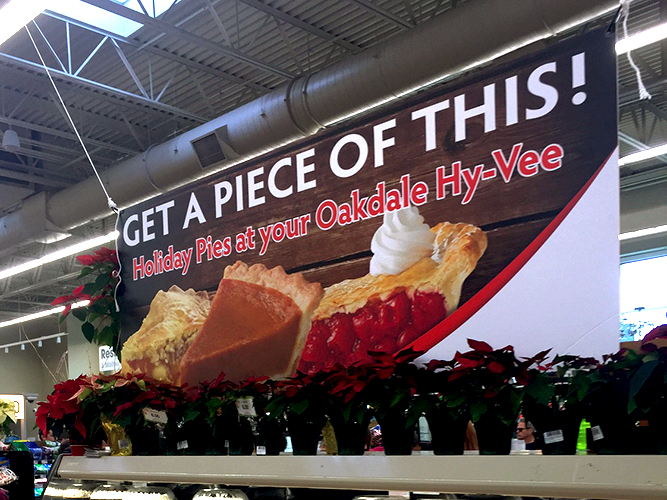 Large Fomat Print - POP Signage - Hyvee - Impression Signs and Graphics