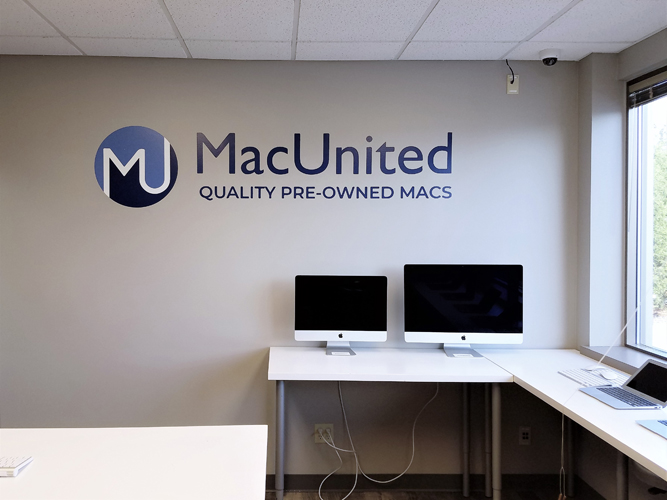 Lobby Office Sign - MacUnited - Impression Signs and Graphics - Oakdale, MN