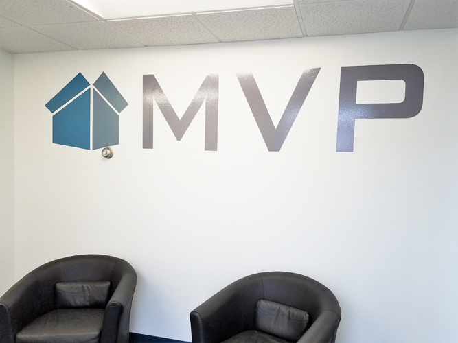 Lobby Office Sign - MVP - Impression Signs and Graphics - Oakdale, MN