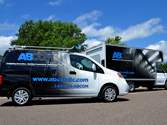 Vehicle Graphic - Fleet - ABCom - Impression Signs and Graphics