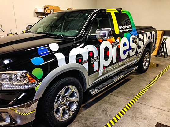 Vehicle Graphic - Truck - Impression Signs and Graphics