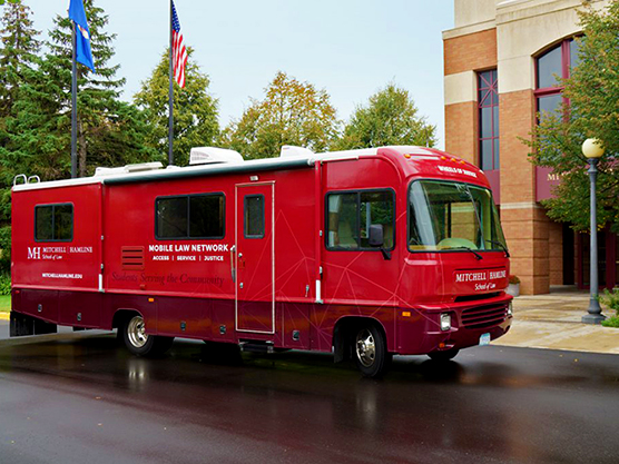Vehicle Graphic - RV - Hamline Mitchell Law - Impression Signs and Graphics