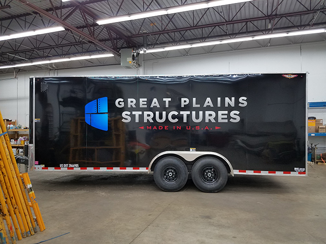 Great Plains - Vinyl for Trailer - Impression Signs and Graphics - Oakdale, MN