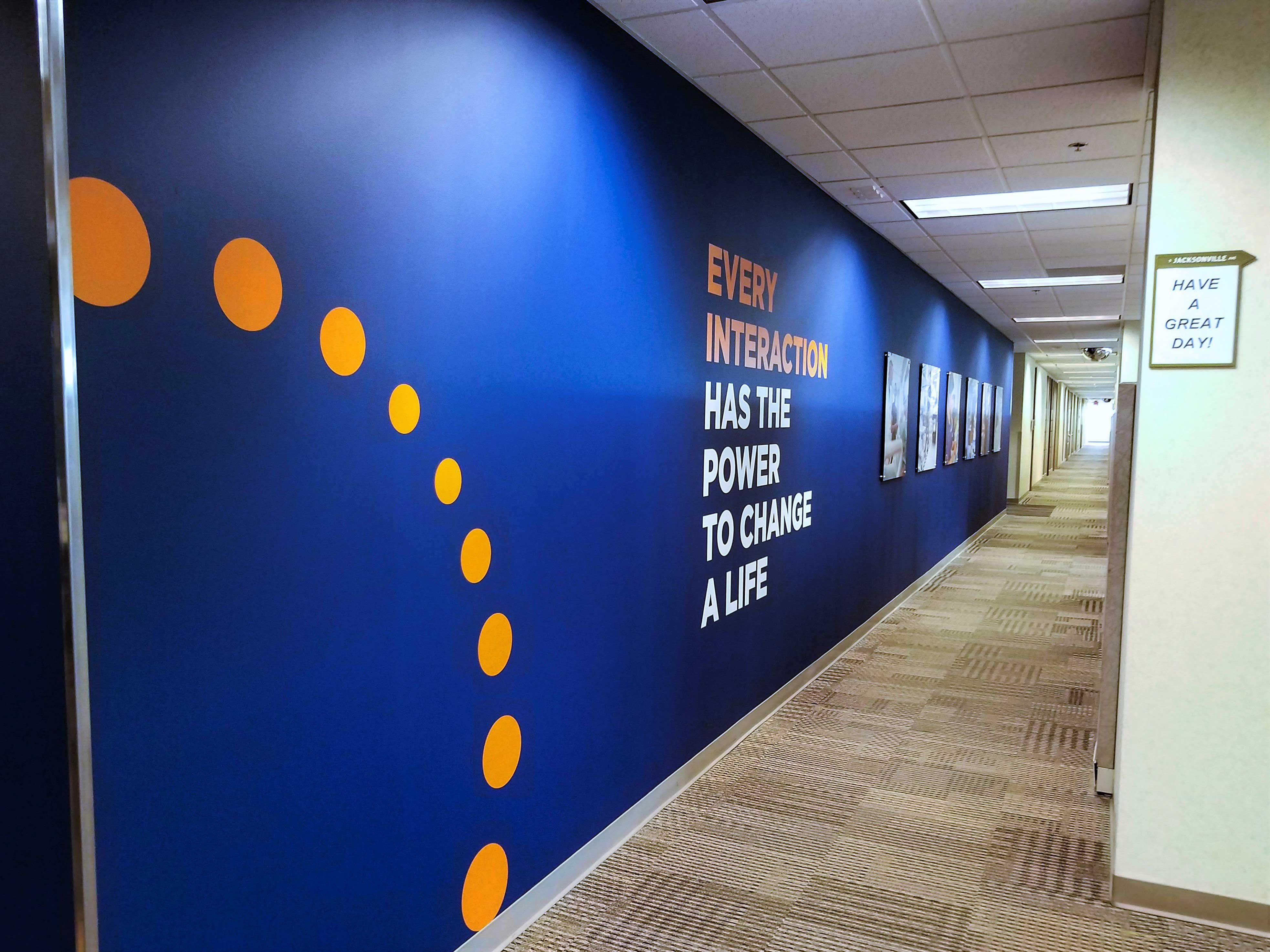 Agiliiti Hallway - Wall Graphics - Impression Signs and Graphics