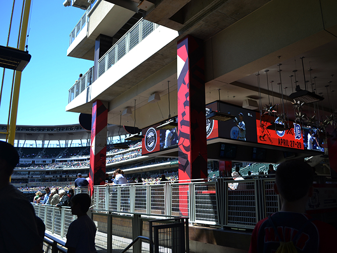 Barrio_Target Field_Mortenson Construction - Wall Graphics - Impression Signs and Graphics