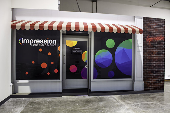 Impression Signs - Wall Graphics - Impression Signs and Graphics
