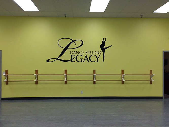 Legacy Dance - Wall Graphics - Impression Signs and Graphics