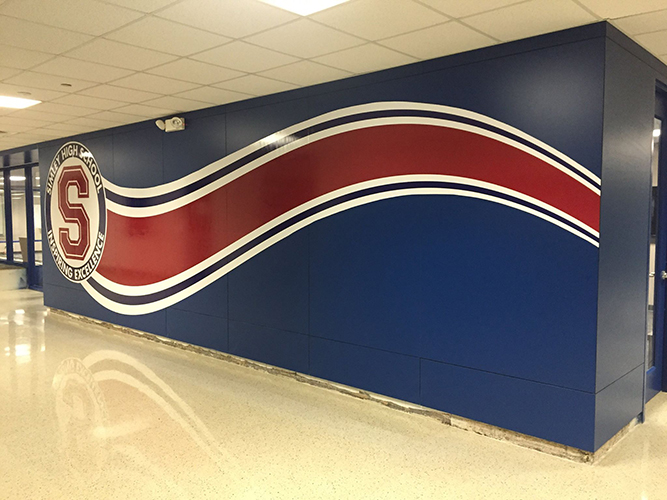 Simley High School - Wall Graphics - Impression Signs and Graphics