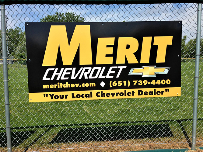 Site Sign - Merit Chevrolet - Impression Signs and Graphics