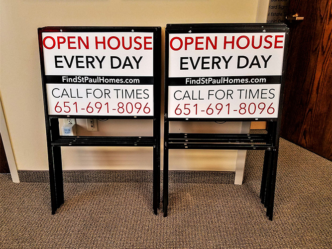 Yard Signs - Remax - Open House - Impression Signs and Graphics